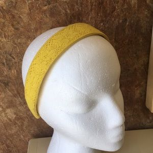 2/$22 Yellow formed headband